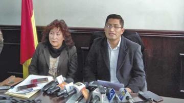 Imputan a exfiscales Blanco y Boyan por amenazas a litigantes