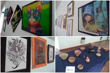 Colegio Tomás Frías abre una muestra pictórica