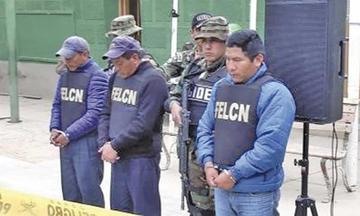 En Oruro detienen a un sargento de la Policía con 125 kilos de droga