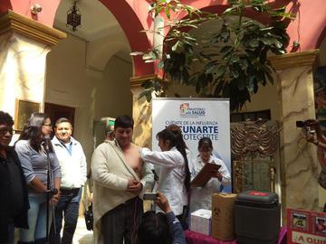 Lanzan la campaña de vacunación gratuita