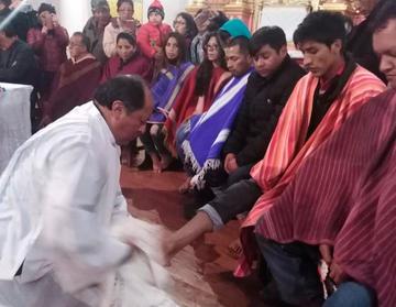 Tradiciones potosinas engalanan el Viernes Santo