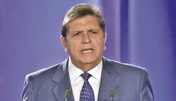 Expresidente Alan García dejó una carta antes de suicidarse