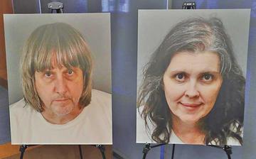 Dictan cadena perpetua a pareja que torturó a sus hijos en EE.UU.