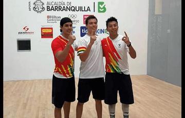 Bolivia consigue el oro en el raquetbol
