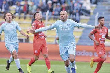 Bolívar golea 3-0 a Guabirá