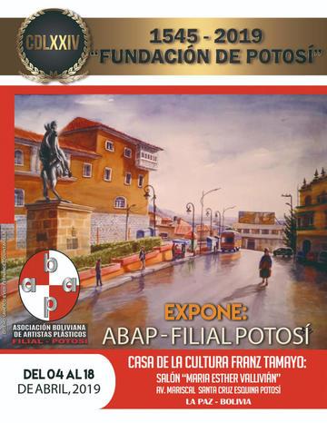 Artistas exponen en honor a Potosí