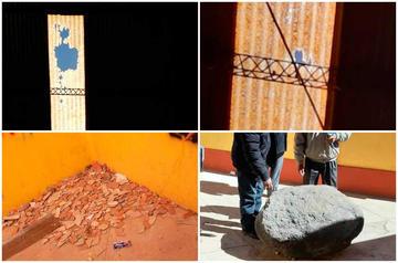 Piden reparar cubiertas de escuela Guzmán de Rojas