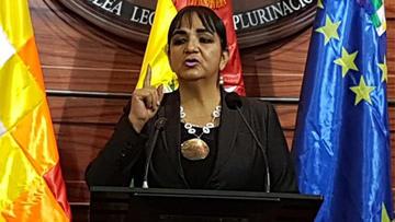 Senadora Gonzales plantea que la DEA vuelva a Bolivia