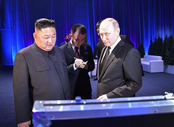 Kim Jong-un recibe el apoyo de Rusia en su pugna contra EE.UU.
