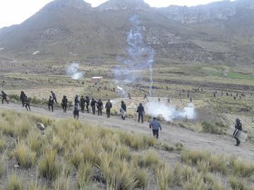 Enfrentamiento por tierras deja heridos en la zona de Cantería