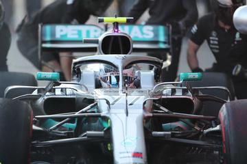 """Bottas logra la """"pole"""" en el GP de Baku"""