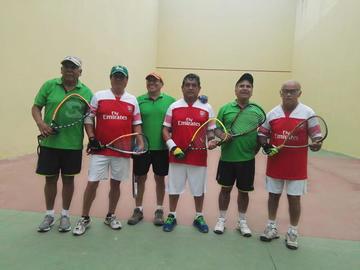 Potosinos se coronan campeones en raqueta frontón