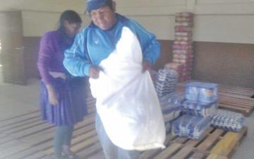 Sedeges entrega alimentos para cerca de 4.000 niños