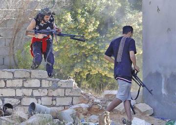 Milicias de Trípoli recuperan varias zonas al sur de Libia