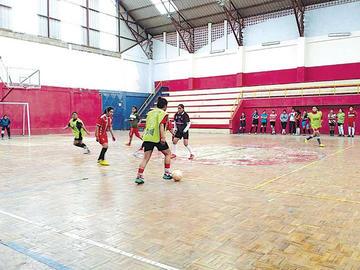 La selección potosina de futsal en damas entra en la recta final de su preparación