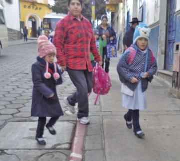 Las regiones más frías de Potosí aplicarán horario de invierno