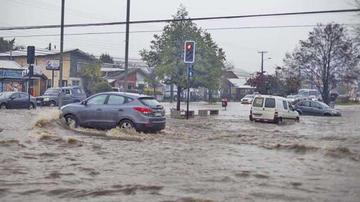 Reportan 500 personas afectadas y 67 casas inundadas en Chile