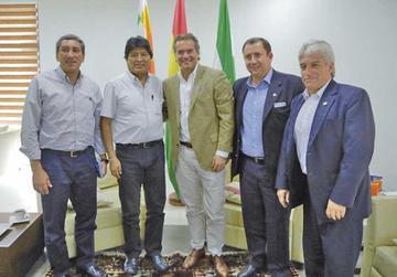 Bolivia reitera interés para organizar los Panamericanos