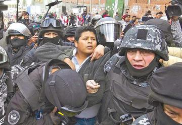 Gutiérrez denunciará al Estado en la CIDH por violación de derechos
