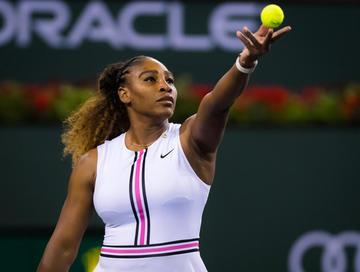Serena reaparece en el Abierto de Italia