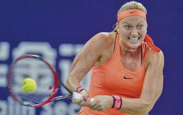 Kvitova inicia defensa del título en Madrid