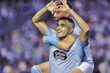 El Celta venció 2-0 a Barcelona en Balaídos