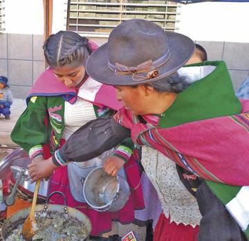La papa es la reina de la gastronomía de Potosí