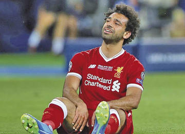 Mohamed Salah se someterá a pruebas médicas