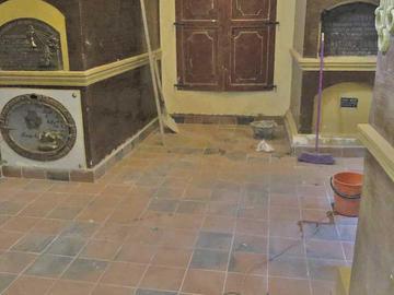 Gobernación refaccionó el mausoleo de los ilustres