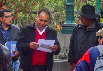 Imputan al alcalde de Achacachi por cinco delitos y piden cárcel