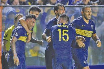 Boca pasó a los octavos de final de la Copa Libertadores