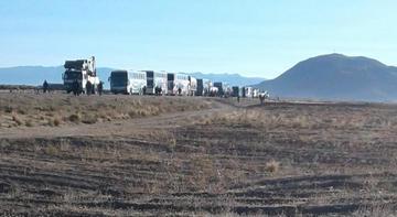 Transporte de Oruro declara  cuarto intermedio en bloqueo