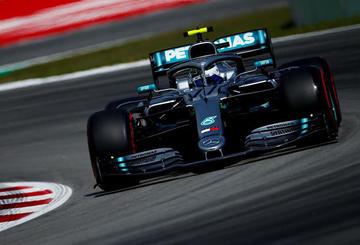 Bottas mantiene el dominio en los entrenamientos libres para el GP de España