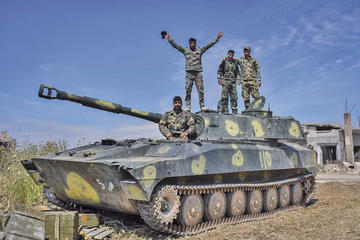 Mueren otras 25 personas en Siria en combates con rebeldes
