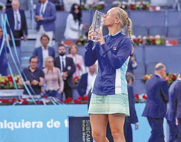 Bertens gana el título del Mutua Madrid Open