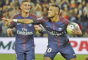 El PSG se impone 2-1 al Angers