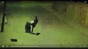 Tratan de identificar al joven que noqueó a patadas a un anciano