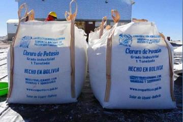 Bolivia prevé exportar  80.000 toneladas de  cloruro de potasio