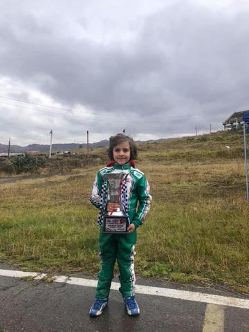Careaga y Sandoval mandan en el nacional de karting