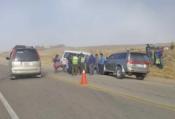 Personas resultan heridas tras colisión
