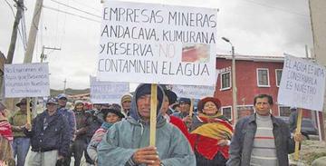 Cinco municipios exigen parar contaminación por la minería