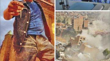 Indagan mensajes ofensivos por el mega deslizamiento en La Paz