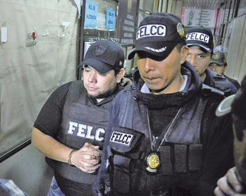 Ordenan detención preventiva de Pedro Montenegro en Palmasola