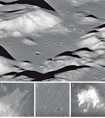 La Luna se achica y tiene arrugas