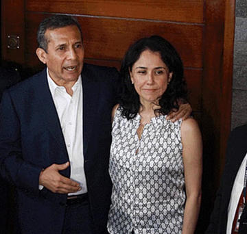 El expresidente Humala afronta una pena de 26 años de prisión