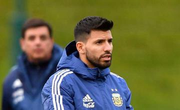 Agüero es convocado a la selección argentina