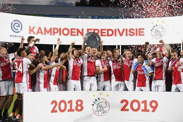 Ajax se corona campeón y sella una temporada histórica