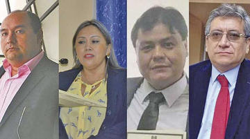 Caso Montenegro: Fiscalía amplía indagación a cuatro magistrados