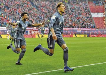 Bayern y el Dortmund disputan el título