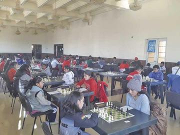 La Villa Imperial alberga el torneo nacional de ajedrez